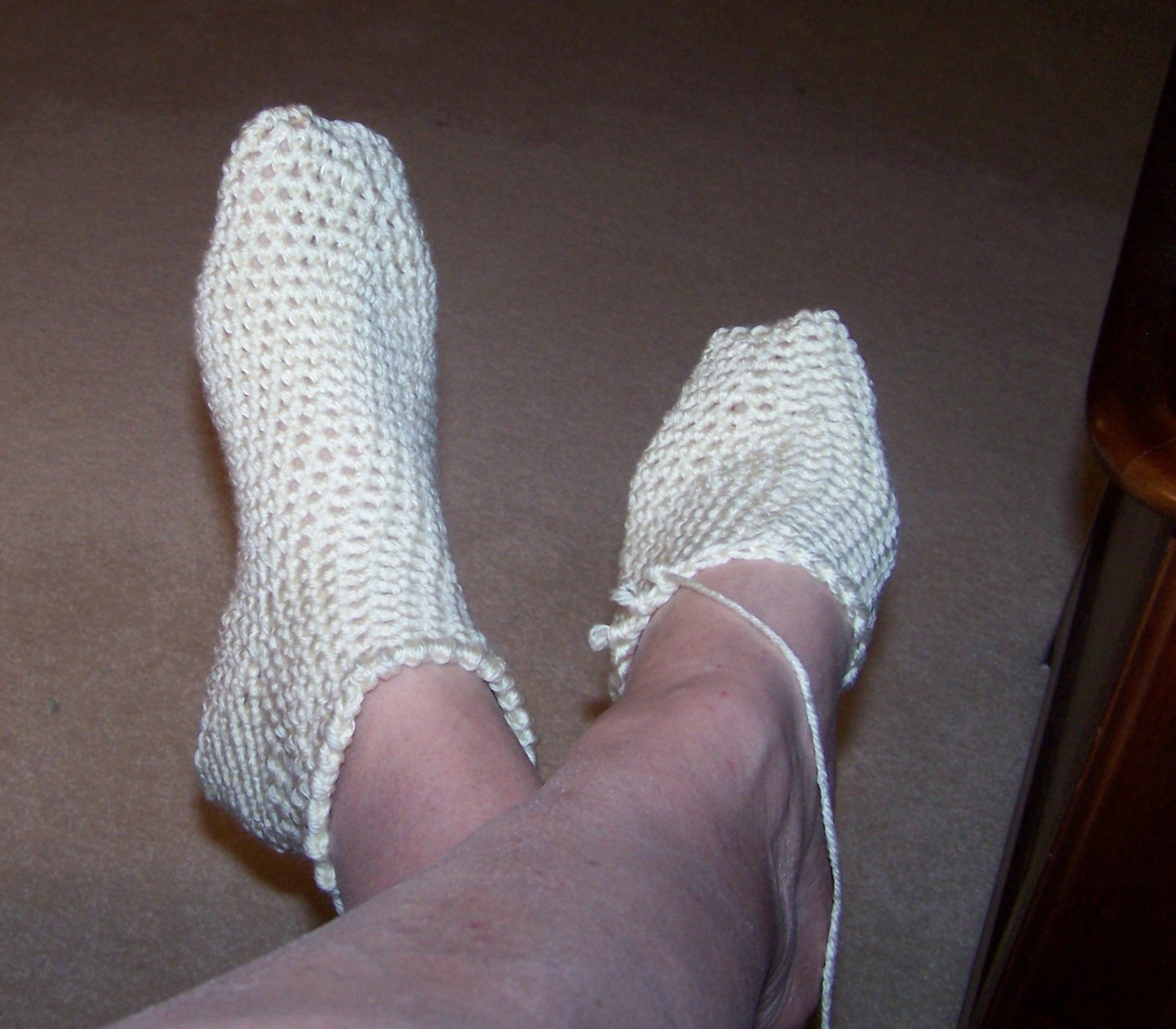 Crocheting Socks