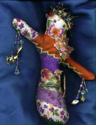 Spirit Doll.. a creation of Nancy Combs…what a talent!