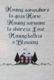 Cross Stitch Sampler 1997