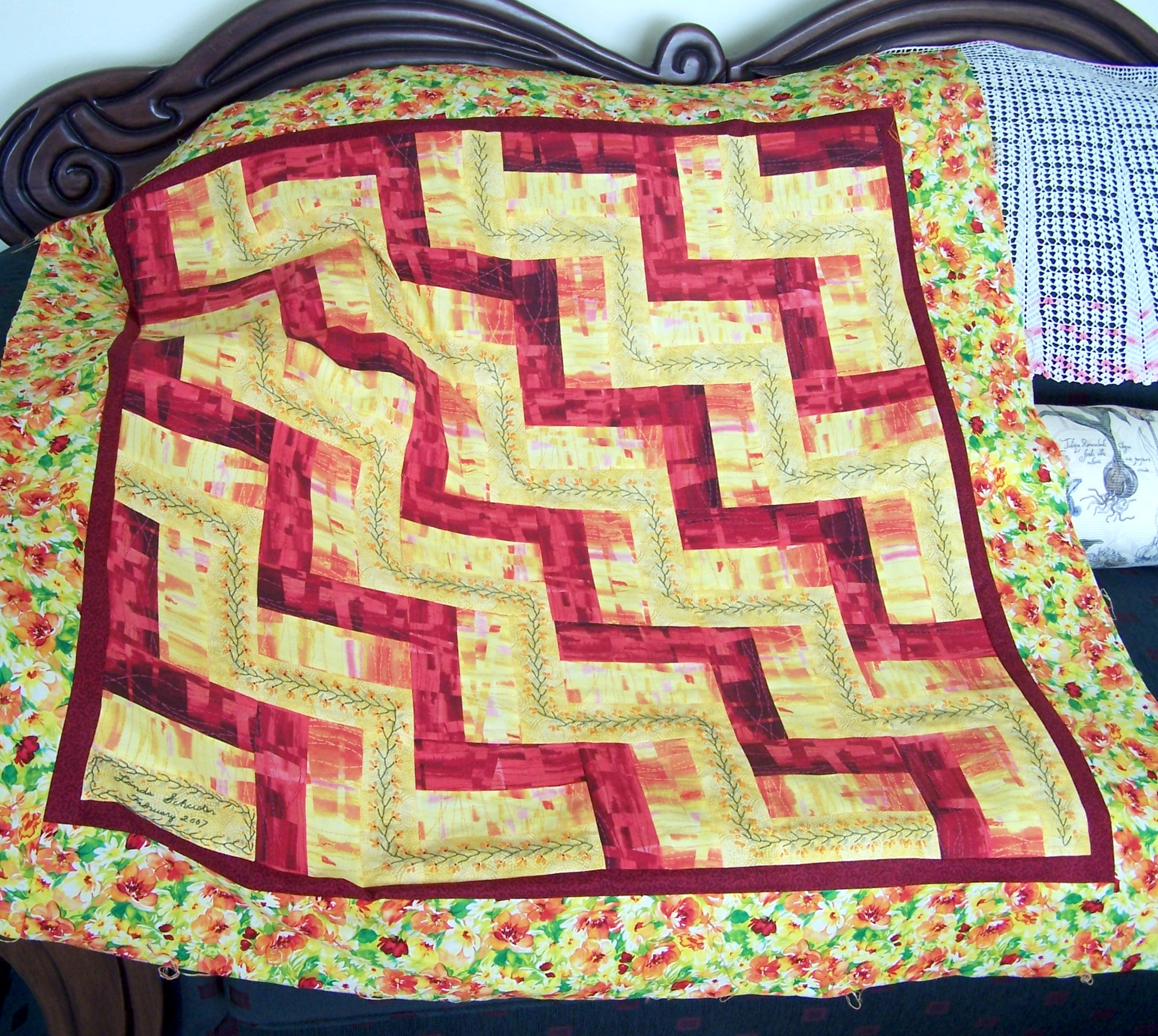 Split Rail Fence Quilt Fabric Follies Two