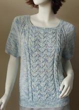 "Straw.com ""Bamboozle"" Short Sleeve RaglanSweater"