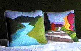 Pillow patterns from Sweaterscape.com