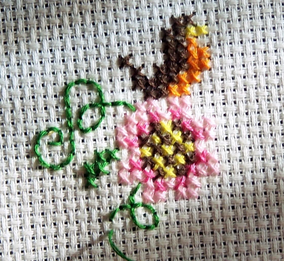 Pam Kellogg and Kreinik (free patterns) | Fabric Follies Two