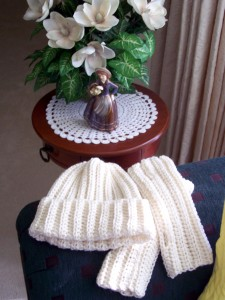 Free Pattern Hat and Mittens