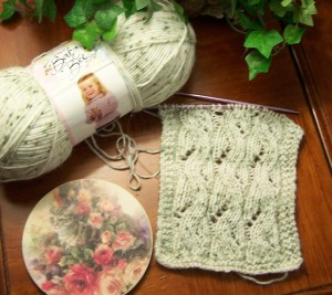 Falling Water Lace Scarf