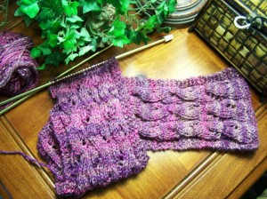 Falling Waters Scarf