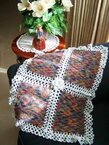 Knit Crochet Blanket