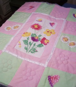 HappyFlowersQuilt
